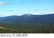 Панорама горы Большой Хапхарнетумп