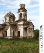Церковь в п.Серебрянка. В таком же заброшенном виде, как и в п.Верхняя Баранча.