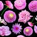 Бесшовный фон с цветами, фото № 5823296, снято 25 апреля 2014 г. (c) Наталья Спиридонова / Фотобанк Лори