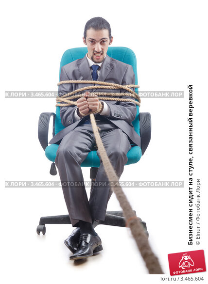 Как связать парня на стуле