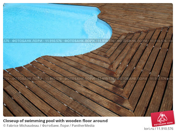 Как сделать деревянный настил вокруг бассейна