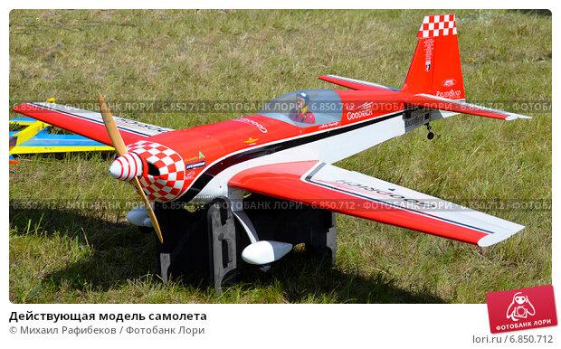 Модель самолета действующая модель
