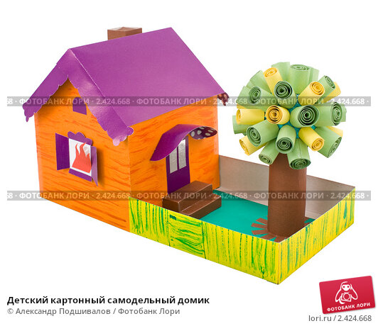 Поделки из картона для дома