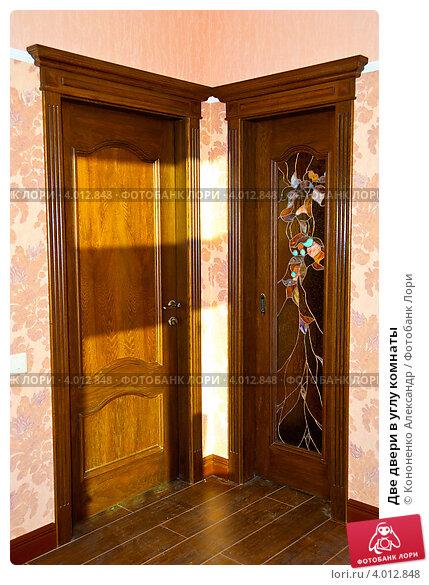 Как сделать дверь на углу