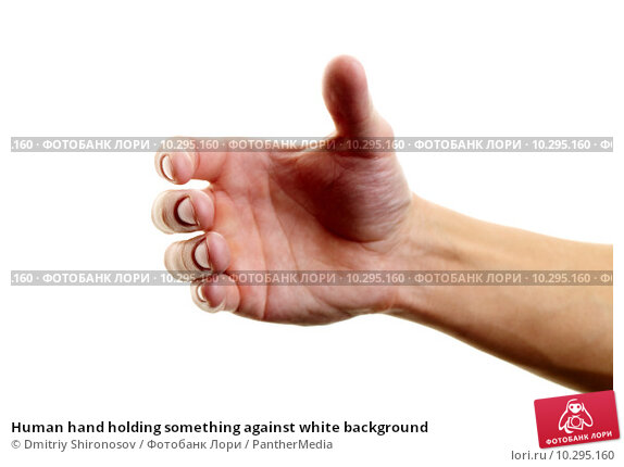 Hand holding png