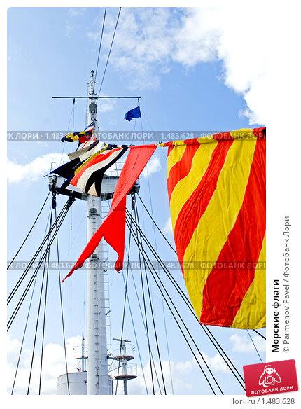 Морские флаги; фотограф Parmenov Pavel; дата съёмки 15 сентября 2008 г