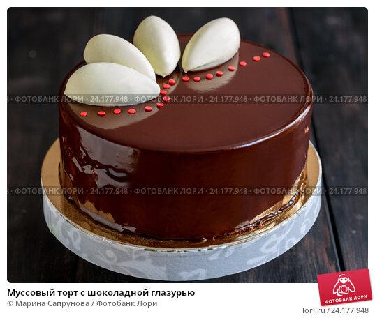 Простой торт с шоколадной глазурью рецепт с фото
