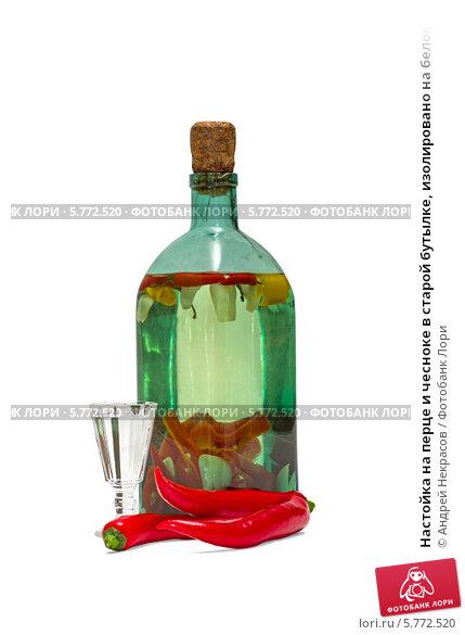 Настойка перца чили с водкой