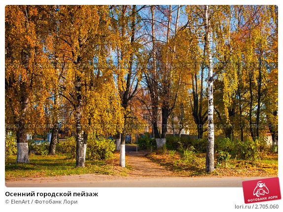 Осенний пейзаж видео