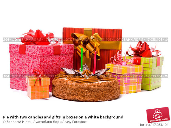 Картинки с тортами и подарками 997
