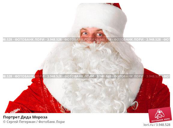 Портрет Деда Мороза, фото № 3948528, снято 12 сентября 2012 г. (c) Сергей Петерман / Фотобанк Лори