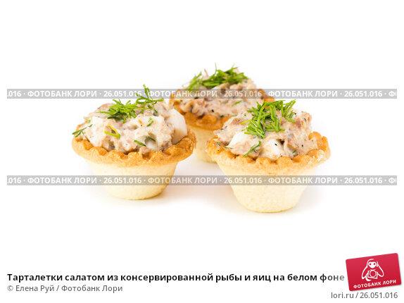 Рецепт салатов из консервированной рыбы с
