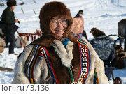 Купить «Ненец», фото № 3136, снято 25 марта 2006 г. (c) Николай Гернет / Фотобанк Лори
