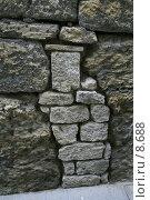 Купить «Каменная кладка внутри каменной кладки», фото № 8688, снято 20 августа 2006 г. (c) Тузов Александр / Фотобанк Лори