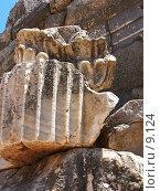 Купить «Деталь колонны. Эфес, Турция», фото № 9124, снято 27 мая 2018 г. (c) Маргарита Лир / Фотобанк Лори