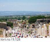 Купить «Мраморная дорога. Эфес, Турция», фото № 9128, снято 9 июля 2006 г. (c) Маргарита Лир / Фотобанк Лори