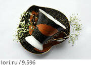 Купить «Чайная пара», фото № 9596, снято 27 июня 2006 г. (c) Ольга Красавина / Фотобанк Лори