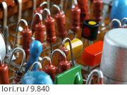 Купить «Электронная плата», фото № 9840, снято 4 сентября 2006 г. (c) Ольга Красавина / Фотобанк Лори