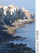 Купить «Италия. Сицилия. Побережье возле города Чефалу», фото № 10084, снято 5 октября 2004 г. (c) Валерий Ситников / Фотобанк Лори