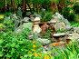 Каменная горка в парке, фото № 10616, снято 23 августа 2017 г. (c) Андрей Жданов / Фотобанк Лори