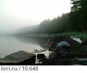 Купить «Туманное утро на Белом море», фото № 10648, снято 1 августа 2004 г. (c) Вячеслав Потапов / Фотобанк Лори