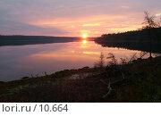 Купить «Рассвет на Белом море», фото № 10664, снято 5 августа 2004 г. (c) Вячеслав Потапов / Фотобанк Лори