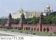 Купить «Москва, Кремль, Большой Кремлёвский дворец», фото № 11336, снято 18 августа 2018 г. (c) Юрий Синицын / Фотобанк Лори