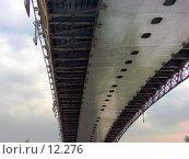 Купить «Фрагмент моста через Москва-реку», фото № 12276, снято 1 сентября 2006 г. (c) Roki / Фотобанк Лори