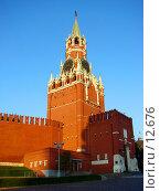 Купить «Москва, Красная площадь, Кремлевские куранты», фото № 12676, снято 24 сентября 2006 г. (c) Roki / Фотобанк Лори