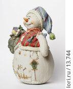 Купить «Снеговик», фото № 13744, снято 30 ноября 2006 г. (c) Лисовская Наталья / Фотобанк Лори