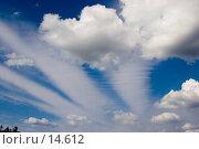 Купить «Небо с облаками.», фото № 14612, снято 14 июля 2006 г. (c) Vladimir Fedoroff / Фотобанк Лори