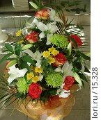 Купить «Букет в цветочном магазине», фото № 15328, снято 20 сентября 2006 г. (c) Комиссарова Ольга / Фотобанк Лори