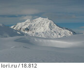 Купить «Снежные противоположности - впадина и гора», фото № 18812, снято 8 января 2003 г. (c) Fro / Фотобанк Лори
