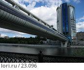 "Купить «Мост ""Багратион""», фото № 23096, снято 2 июля 2006 г. (c) Fro / Фотобанк Лори"
