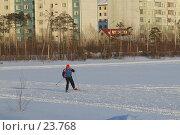 Купить «Лыжник», фото № 23768, снято 10 марта 2007 г. (c) Нурулин Андрей / Фотобанк Лори