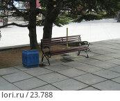 Купить «Скамейка», фото № 23788, снято 7 октября 2006 г. (c) Светлана / Фотобанк Лори