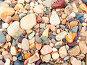 Разноцветные речные камни и галька, фото № 25852, снято 28 июля 2017 г. (c) Андрей Жданов / Фотобанк Лори