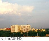 Купить «Новостройки на горизонте», фото № 26140, снято 21 июня 2006 г. (c) Маргарита Лир / Фотобанк Лори