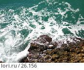 Купить «Морской прибой», фото № 26156, снято 3 ноября 2006 г. (c) Маргарита Лир / Фотобанк Лори