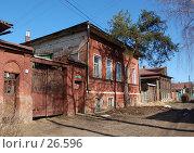 Купить «Дом поэта К.Д. Бальмонта в Шуе», фото № 26596, снято 24 марта 2007 г. (c) Павел Преснов / Фотобанк Лори
