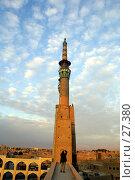Купить «Минарет комплекса Амир Чакмак на закате», фото № 27380, снято 24 ноября 2006 г. (c) Валерий Шанин / Фотобанк Лори
