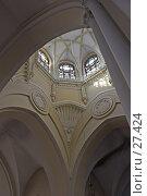 Купить «Свод католического храма», фото № 27424, снято 24 марта 2007 г. (c) Ольга Шаран / Фотобанк Лори