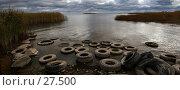 Рыбацкий берег. Стоковое фото, фотограф Андрей Явнашан / Фотобанк Лори