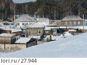 Купить «Деревянная провинция», фото № 27944, снято 10 февраля 2007 г. (c) Александр Тараканов / Фотобанк Лори