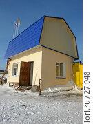 Купить «Сторожка», эксклюзивное фото № 27948, снято 10 февраля 2007 г. (c) Александр Тараканов / Фотобанк Лори