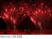 Купить «Праздничный фейерверк на территории дворца», фото № 29528, снято 28 декабря 2006 г. (c) Vladimir Fedoroff / Фотобанк Лори