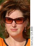 Купить «Девушка в солнцезащитных очках», фото № 31800, снято 24 августа 2006 г. (c) Павел Преснов / Фотобанк Лори