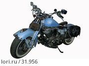 Купить «Мотоцикл Harley-Davidson на белом фоне», фото № 31956, снято 19 июля 2019 г. (c) Игорь Соколов / Фотобанк Лори