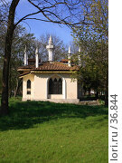 Купить «Кухонный домик в Воронцовском парке», фото № 36844, снято 29 апреля 2007 г. (c) Михаил Баевский / Фотобанк Лори