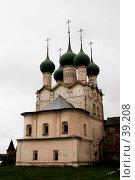 Купить «Церковь Григория Богослова, Ростовский Кремль», фото № 39208, снято 10 августа 2006 г. (c) Vladimir Fedoroff / Фотобанк Лори